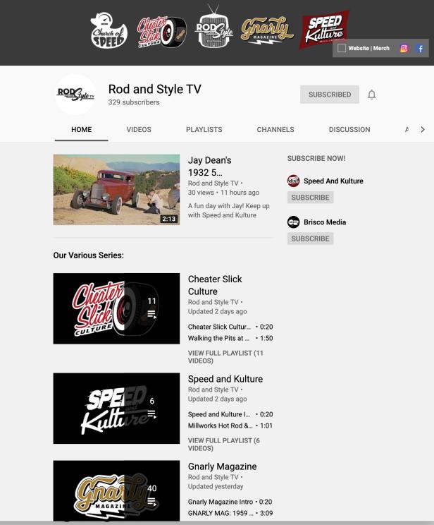 RodAndStyleTV-YouTube